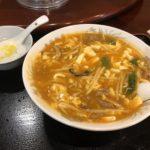 東海飯店 酸辣湯麺